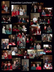 Pictures from our December luncheon.